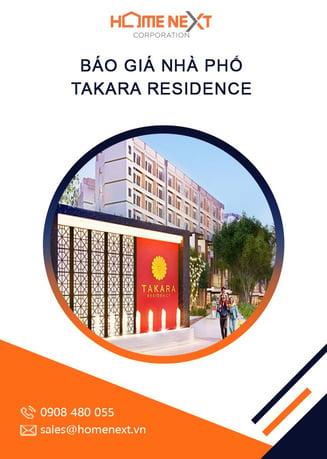 Bao gia nha pho Takara Residence